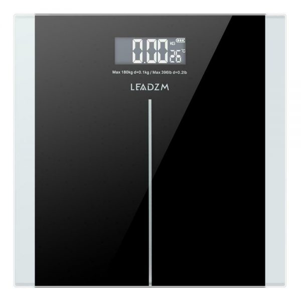 396 LB Digital LCD Personal Glass Bathroom Scale Body Weight Weighing Scales KG 1