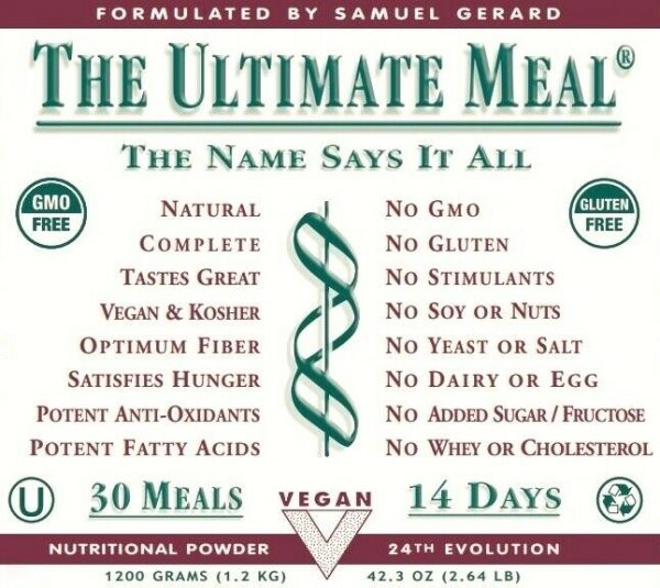 THE ULTIMATE MEAL - by THE ULTIMATE LIFE 2