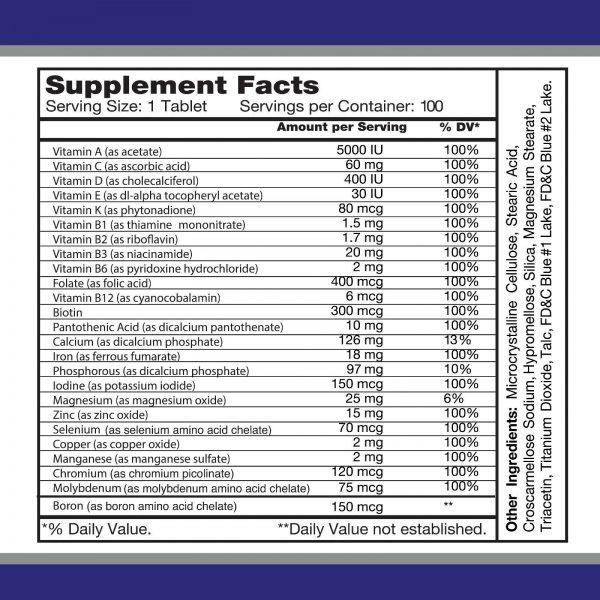 Multi Men / Vitamins and Minerals. Antioxidant. Immune System Support 1