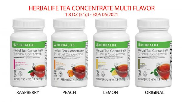 BRAND NEW HERBALIFE TEA CONCENTRATE - ALL FLAVOR - 1.8OZ - FREE SHIPPING