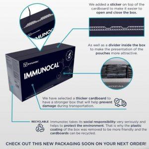 "IMMUNOCAL PLATINUM 2 BOXES by IMMUNOTEC ""GLUTATHIONE PRECURSOR"" FREE SHIPPING! 1"
