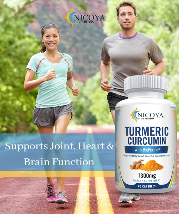 Turmeric Curcumin with Bioperine 1300mg - Anti-inflammatory & Joint Pain Relief 4