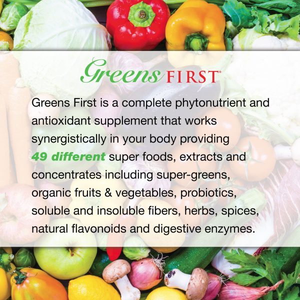 Greens First Nutrient Rich-Antioxidant SuperFood 4