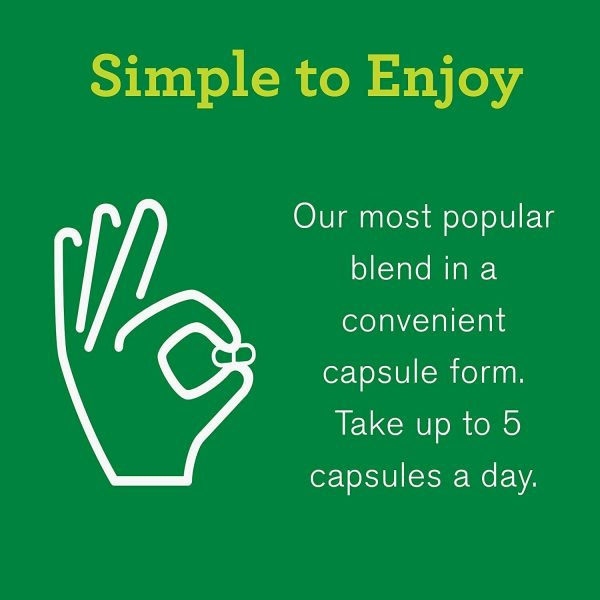 Amazing Grass Green Superfood Capsules: Super Greens with Spirulina,... 5