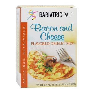 Bariatricpal Hot Protein Breakfast - Bacon and Cheese Omelet
