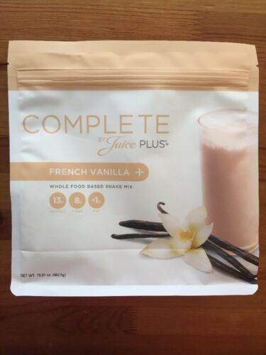 Juice Plus COMPLETE Shake - French Vanilla - Two Bags - Exp 01/2022 1
