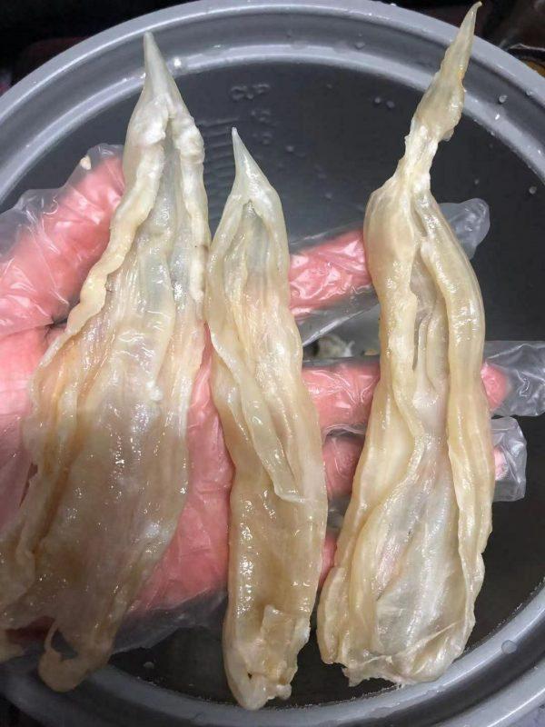 Natural Dried Fish Maw半磅装/1磅装/超靓南美洲天然野生蝴蝶胶,黃花鱼胶(纽约总经销) 11