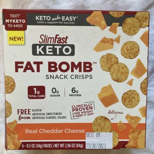 80 SlimFast Keto Meal Bars & Fat Bomb Snacks, Chocolate, Mint, Cheese Read Desc 7
