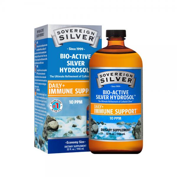 Sovereign Silver Pour-Top, 32 oz.