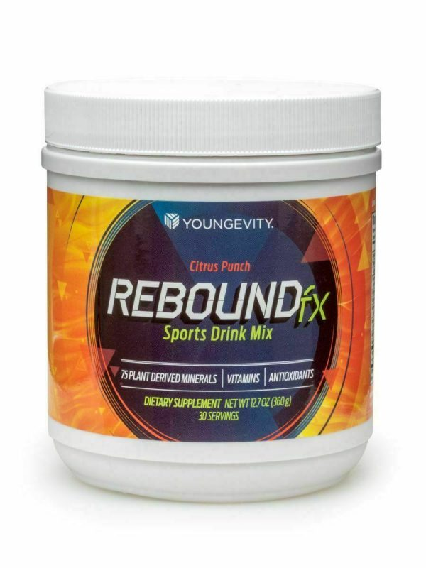 Rebound Fx Citrus Punch Powder 360g canister (4 pack) Dr. Wallach Theo Ratliff