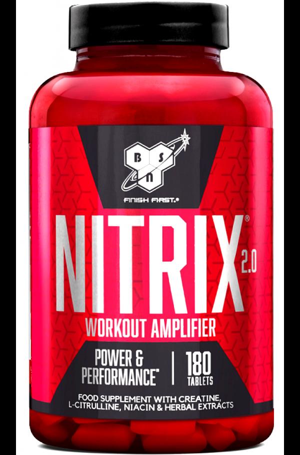 BSN Nitrix, Concentrated Nitric Oxide Precursor, 2.0 2