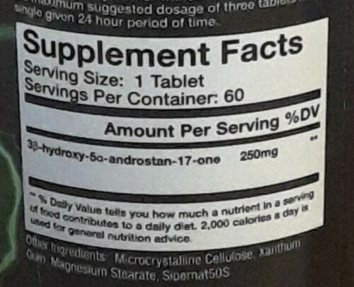 """Olympus Labs Super-Epi 60 tablets, exp 11/20 """"discontinued"""" 1"""