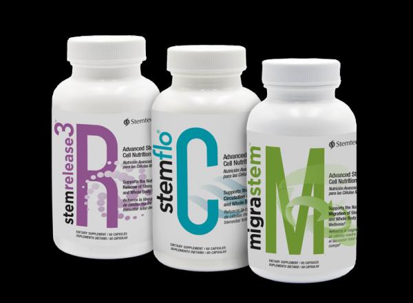 Stemtech Research StemRelease3 StemFlo MigraStem - FULL RCM SYSTEM - FREE SHIP!