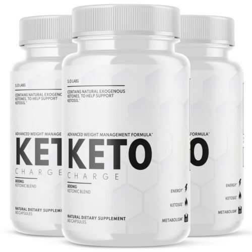 Keto Charge Pills Weight Loss Diet Ketogenic KetoCharge Supplement - 3 Pack