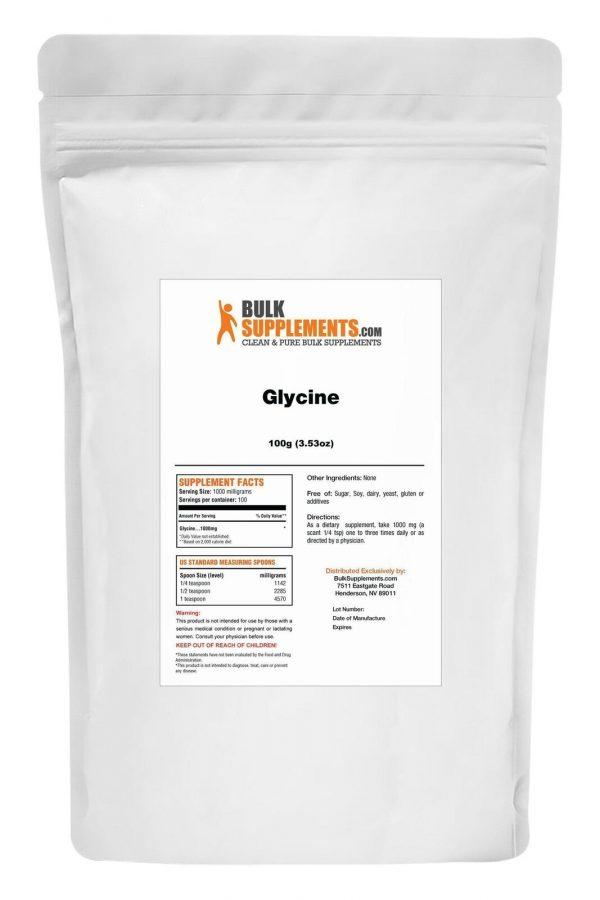 BulkSupplements.com Glycine - Sleep Supplement - Amino Acids Supplement 1