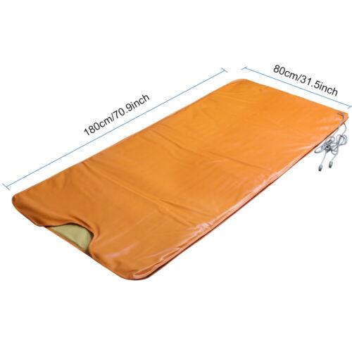 Sauna Far Infrared Thermal Blanket Heating Weight Loss Bag SPA Detox Machine USA 5