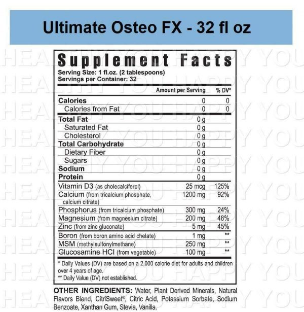 Ultimate Osteo FX - 32 fl oz (3 PACK) Youngevity 1