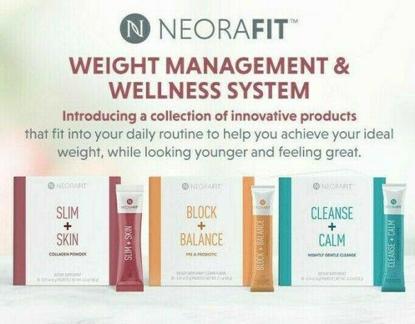 Neora - Neorafit - Slim Skin / Block Balance / Cleanse Calm - SALE - Fit - New