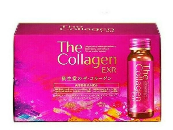 Shiseido The Collagen Drink EXR 50 ml x10 Bottles Japanese Beauty w/Tracking #