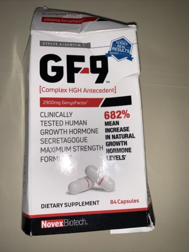 Basic Research GF-9 Dietary Supplement 168 Capsules(2) bottles exp.12/2022 4