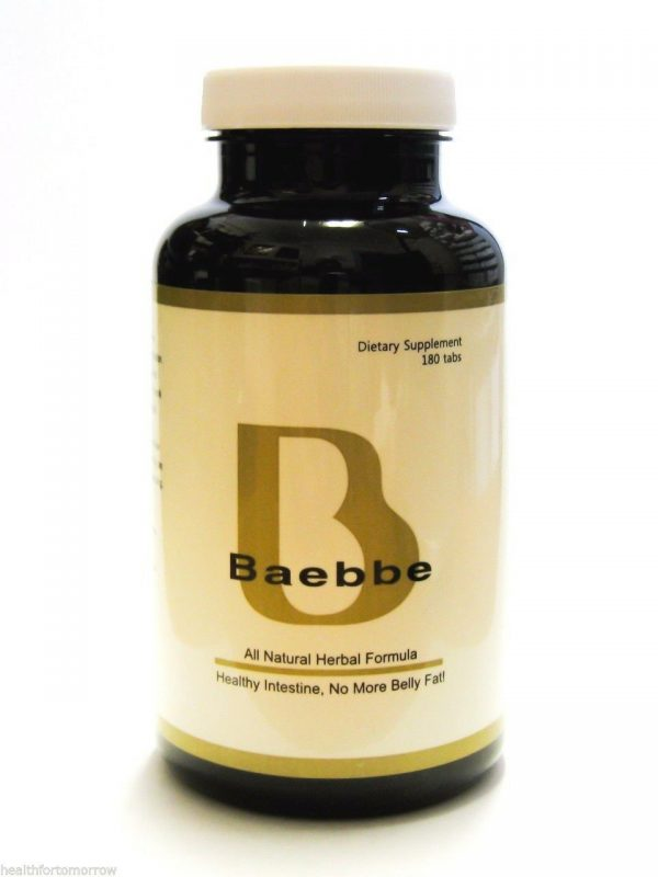 NSD Herbal BAEBBE World's Best Colon Intestine Cleanse - 180 Tabs LOSE BELLY FAT