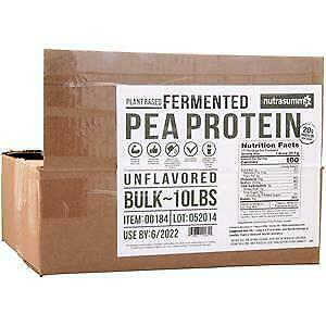 Nutrasumma Fermented Pea Protein Unflavored 10 lbs