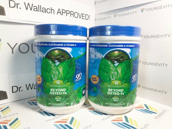 Youngevity Beyond Osteo Fx powder (2) Pack Dr. Wallach approved NEW LABEL :)