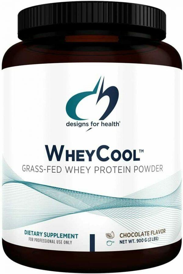 NEW - WHEYCOOL GRASS-FED WHEY PROTEIN POWDER DIETARY SUPPLEMENT CHOCOLATE - 2ILB