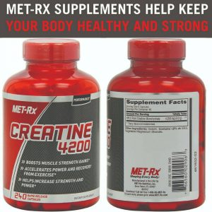 Creatine 4200 Supplement Supports Muscles Pre Post Workout Recovery Capsules 1