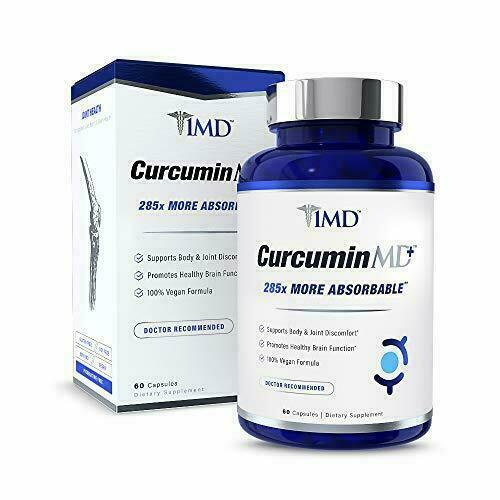 1MD CurcuminMD Plus - Turmeric Curcumin with Boswellia Serrata - 285x More...