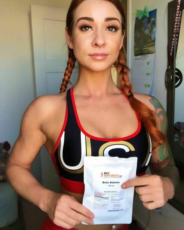 BulkSupplements.com Beta Alanine - Vegan Pre Workout - Beta Alanine Powder 2