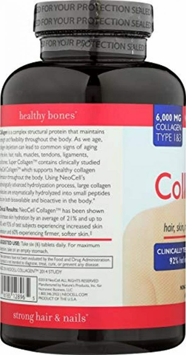 Neocell, Collagen Super Plus C, 250 Tablet ( 3 Pack ) 4