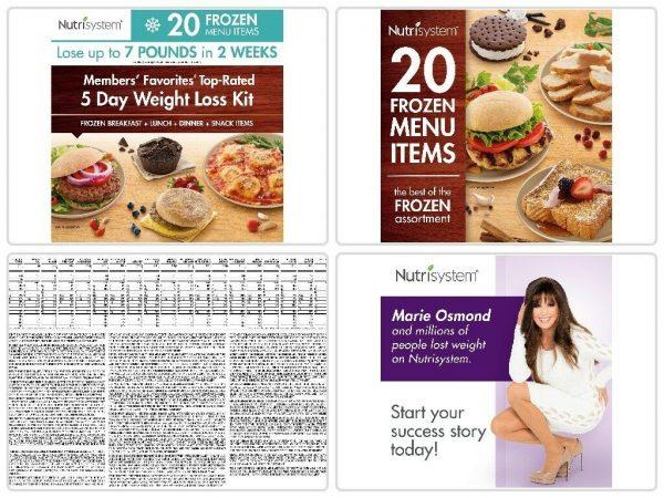 Nutrisystem 5 Day Diet Kit Weight Loss Frozen Food Meals Snacks Breakfast Lunch 5