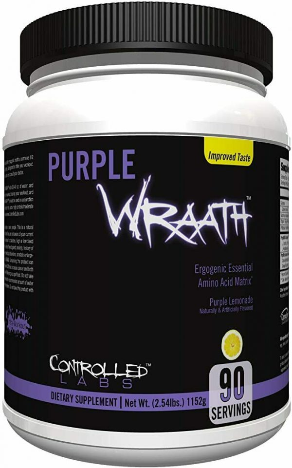 Controlled Labs PURPLE WRAATH 90 Servings 2.54 lbs Brand New!