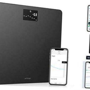 Body - Digital Wi-Fi Smart Scale with Automatic Smartphone App Sync, Black