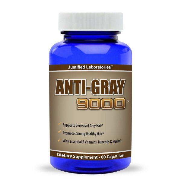 Anti Gray Hair 9000 Pure Saw Palmetto Catalase Horsetail Restores Natural Color  1