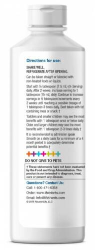 Lifetrients – Speak+D Smooth – Orange Vanilla – 15.2 oz – Pediatrician...  3