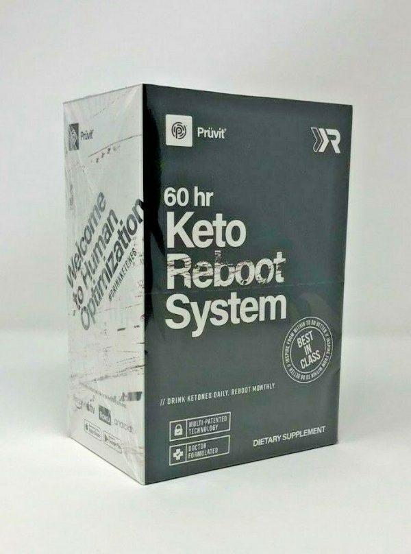 Pruvit Keto Reboot System Kit 60 hours Expires 03/2022 New/Sealed