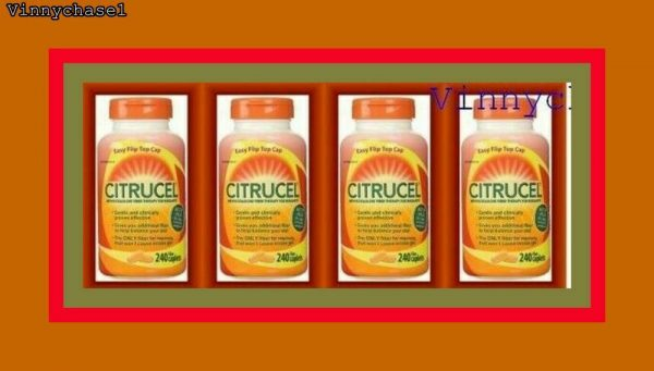 4X CITRUCEL Methylcellulose Fiber Therapy for Regularity-LONG EXPIRY DATE