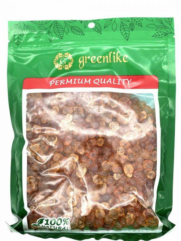 Greenlike Natural Wild Tao Jiao Peach Gum Jelly for Skin Health 16oz 天然桃胶 桃胶 圆桃胶