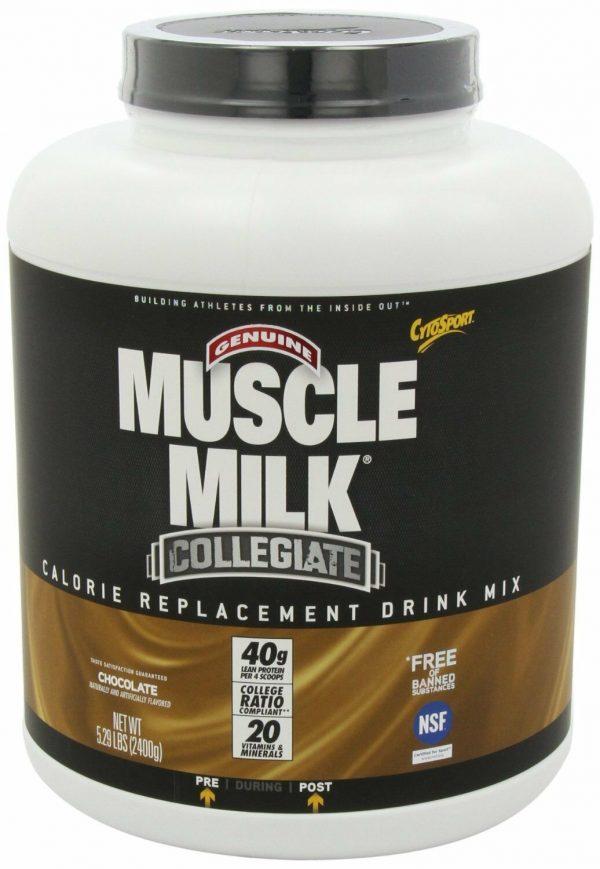 CYTOSPORT MUSCLE MILK Collegiate 5.29 lb. Powder - Chocolate