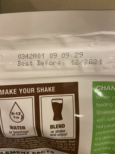 Shakeology Chocolate 30 day supply Fast Ship Product on hand 2021 PLANT BASED 1