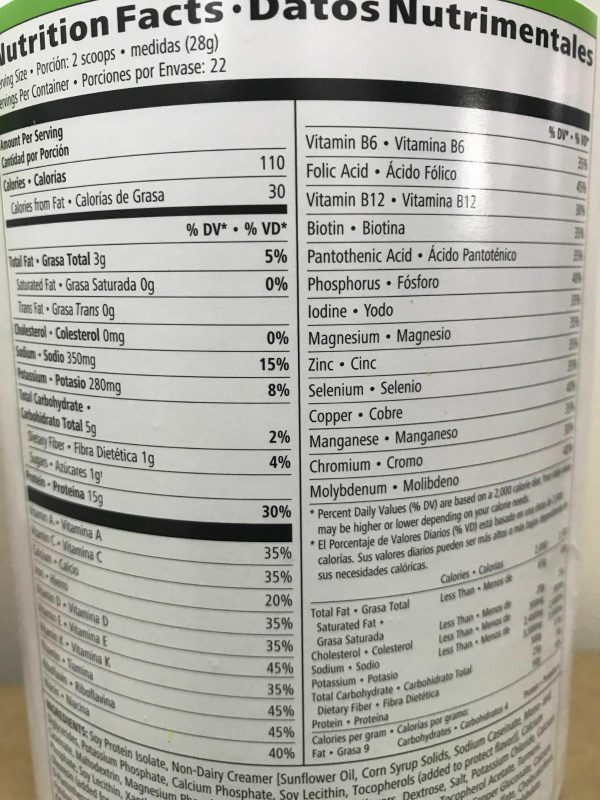 NEW HERBALIFE FORMULA 1 HEALTHY MEAL SHAKE AND PROTEIN DRINK MIX (MULTI FLAVORS) 5