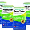 480 PreserVision® Areds 2 Eye Vitamin Mineral Softgels 120 x 4 PACK, EXP 2022