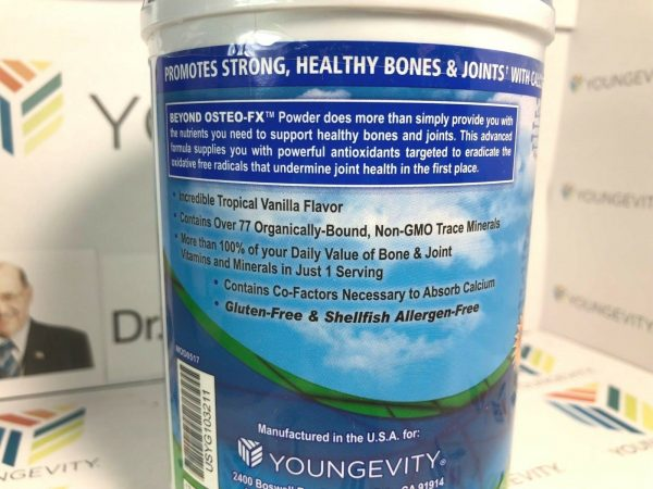 Youngevity Beyond Osteo Fx powder (2) Pack Dr. Wallach approved NEW LABEL :) 2