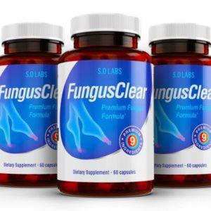 (3 Pack) Fungus Clear Premium Probiotic Improves Toe Nail Health 120 Capsules
