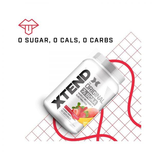 XTEND Original BCAA Powder Strawberry Mango   Sugar Free Post Workout Muscle ... 4