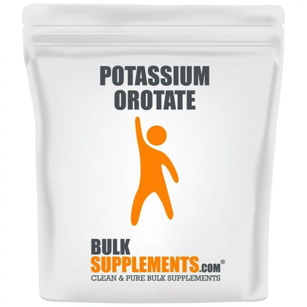 BulkSupplements.com Potassium Orotate - Fasting and Electrolyte Supplements