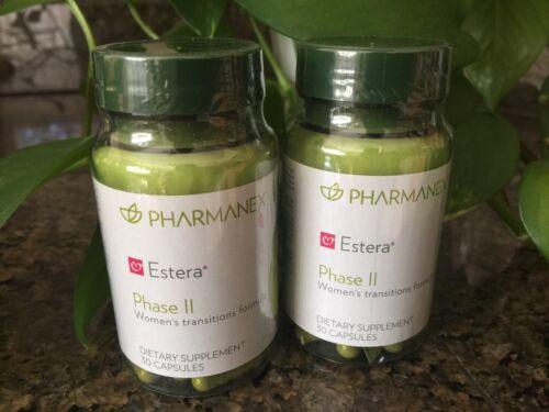 Nu skin nuskin Pharmanex Estera Phase II Women's Transitions Formula -2 Bottles