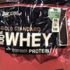 Optimum Nutrition Gold Standard 100% Whey Protein, Free, 80 Servings CHOCOLATE